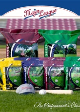 Major League Grass Seed Poster